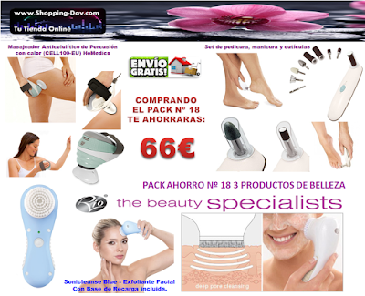 3 fantásticos productos y con un ahorro de 66€, GENIAL!