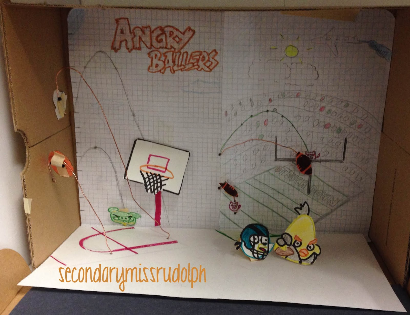 The Secondary Classroom Can Be Fun Too Angry Birds border=
