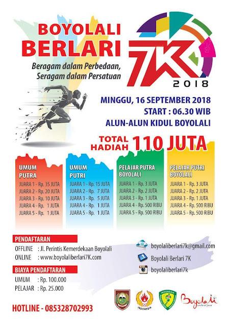 Boyolali Berlari 7K 2018