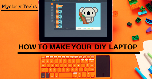 Make DIY Cheap Laptop Using RPI 3 - Mystery Tech