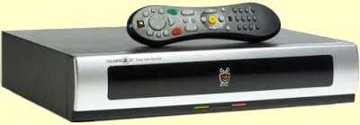 Tivo DVR device with remote control