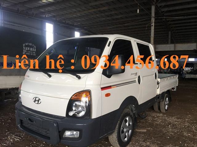 Xe bán tải cabin kép Hyundai Porter 1 tấn