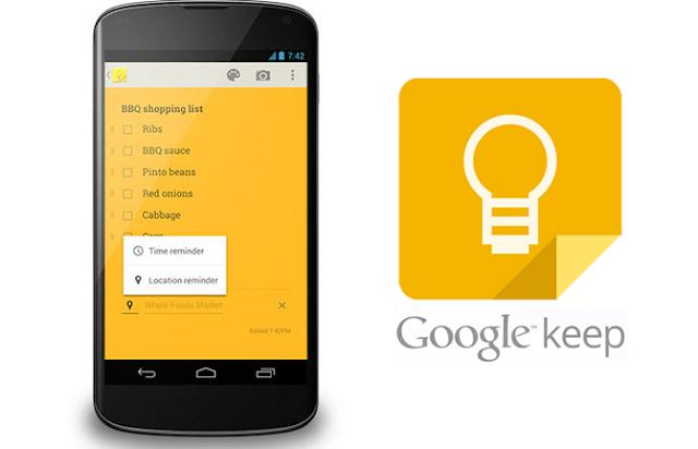 تطبيق الملاحظات Google Keep يتيح للمستخدمين إضافة المزيد من محتوى الرسم