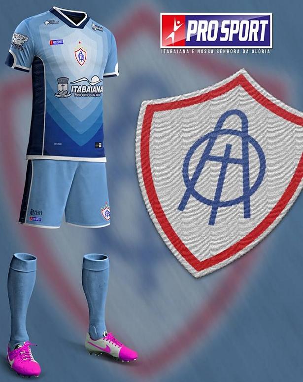 ae9a00fe6 Pro Sport divulga as novas camisas do Itabaiana - Show de Camisas