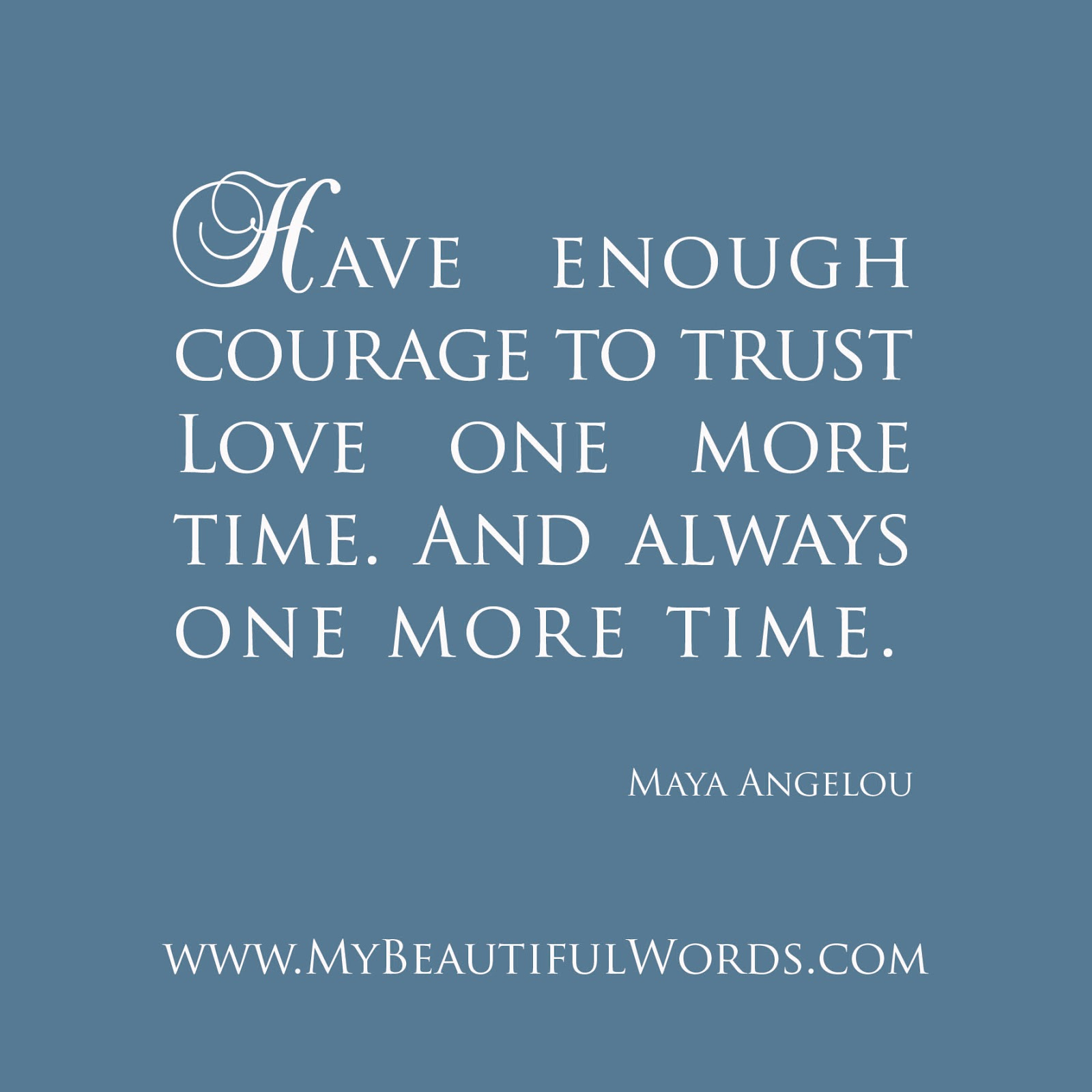 Courage To Love: My Beautiful Words.: December 2012