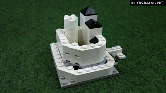 [MOC] Castle in Będzin, Poland - microscale
