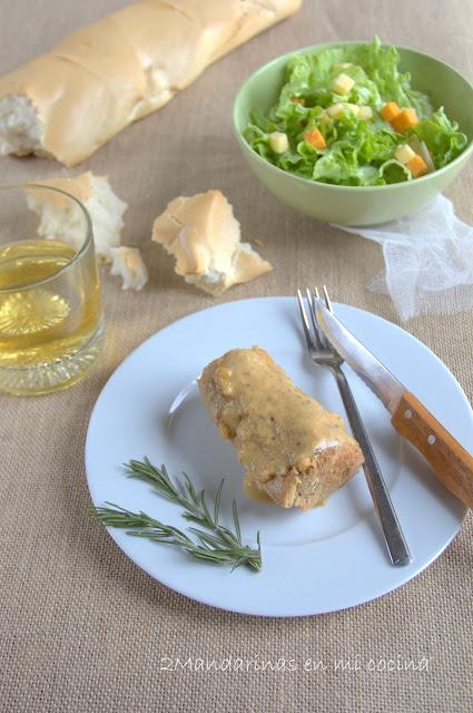Solomillo de cerdo con  manzana y sidra y especias DUCROS