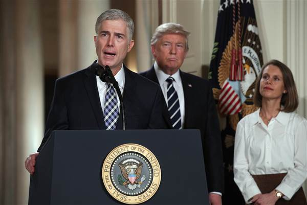 United States President Donald Trump has nominated, Neil Gorsuch, a Federal Appeals Court Judge, to replace the late Justice Antonin Scalia.