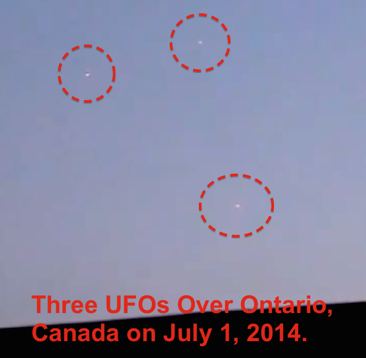 UFO Canadian N.L. Residents