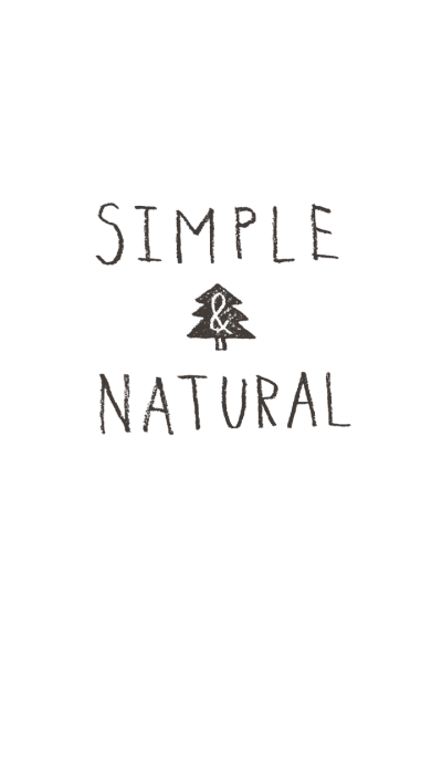 SIMPLE & NATURAL (Theme)