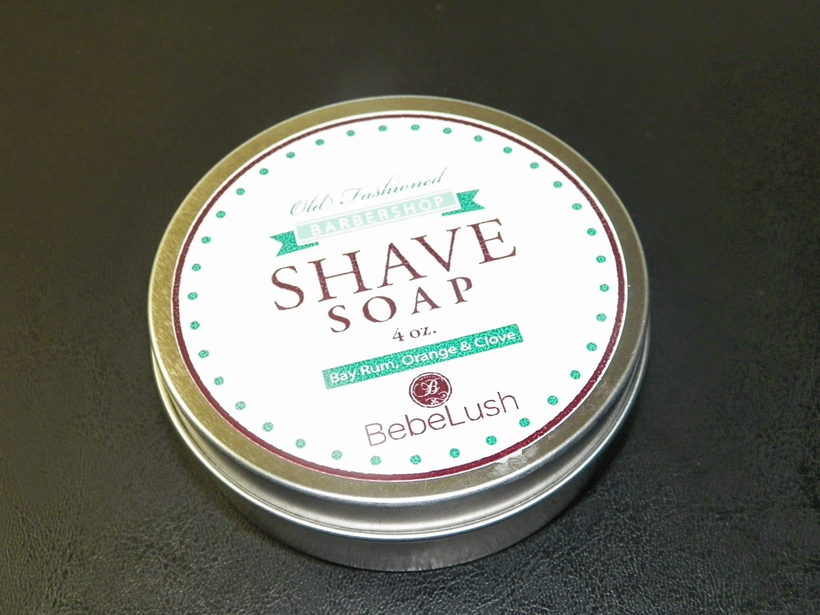 Mygreatfinds Bebelush Barbershop Shave Soap Bar In A Jar