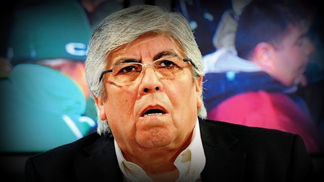 """Hugo Moyano dijo que el pedido de detención de su hijo Pablo era """"para tapar"""" retroactivo del gas"""