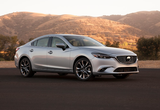 2016 Mazda 6 grey