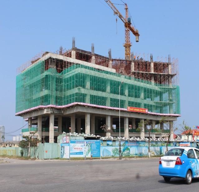 Khung nhà Bê tông tòa nhà Quốc hội - Đà Nẵng