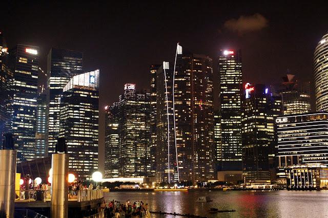 Foto Keindahan Singapore Di Malam Hari