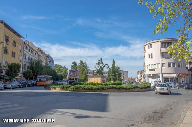 Monument - Veles city - Macedonia