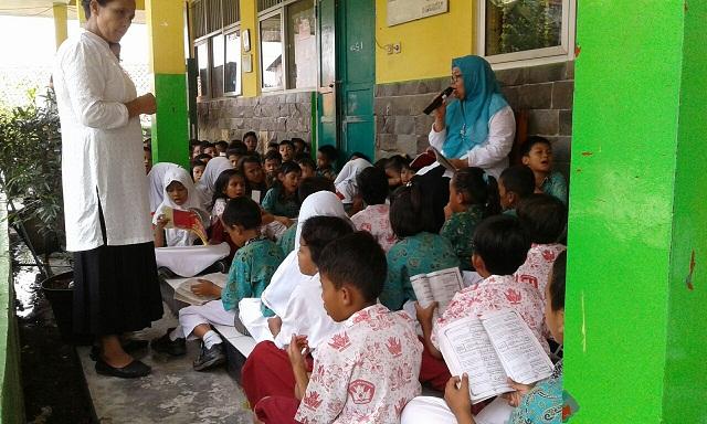 Siswa Mekarjaya 26 dan 13 Wajib Ikut Tausyiah Sebelum PBM