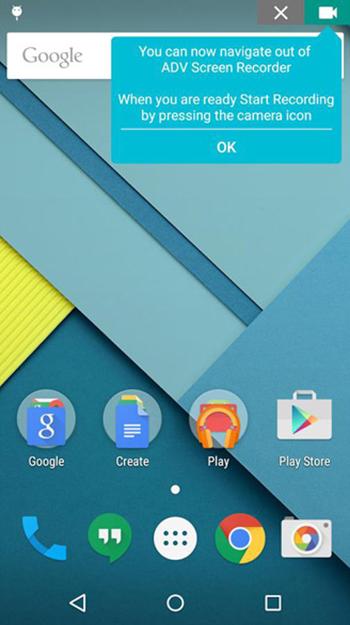 ADV Screen Recorder Aplikasi Untuk Merekam Layar Android