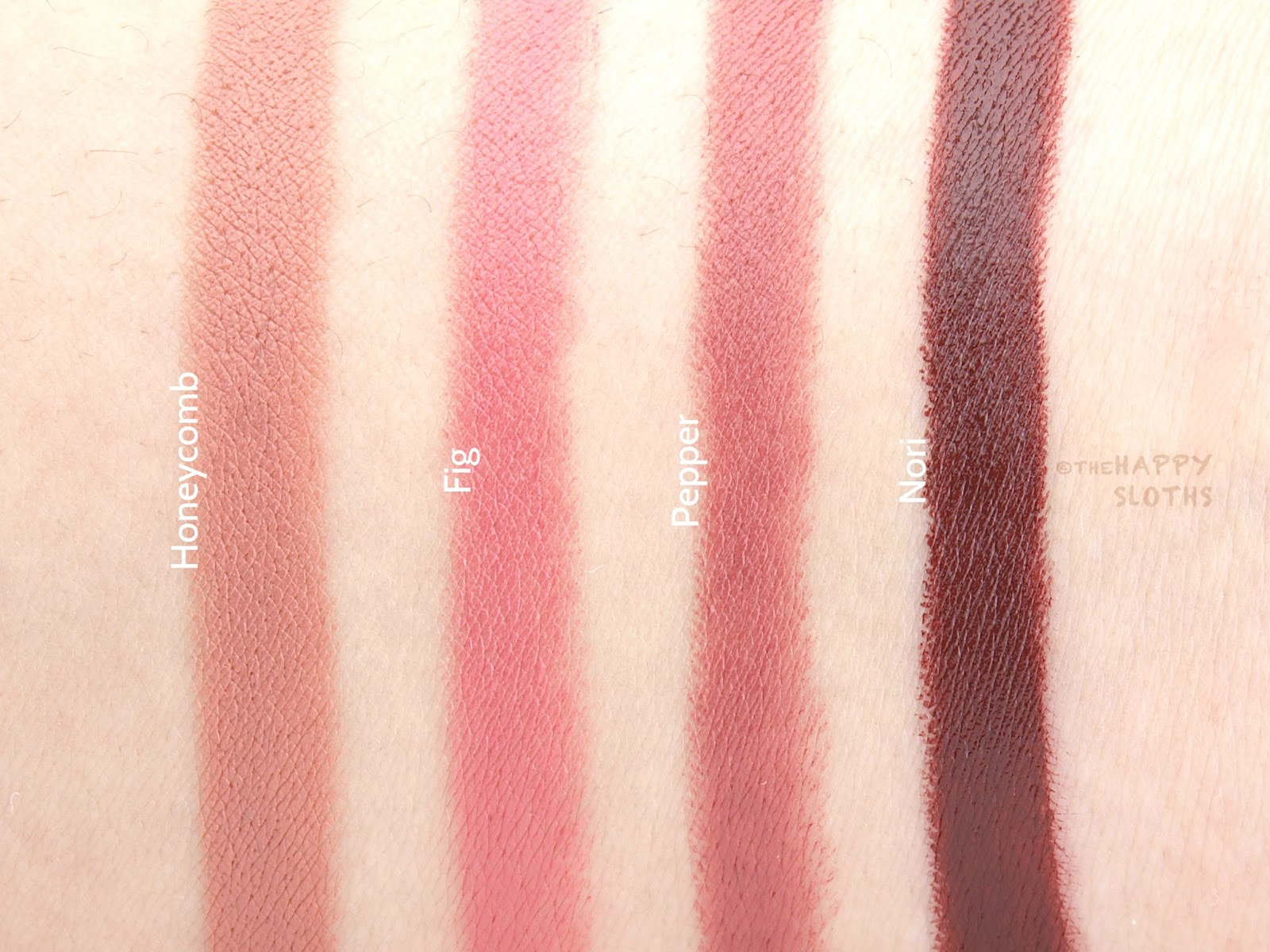 Bite The Perfect Bite Swatches Review