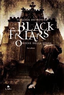 copertina Black Friars Ordine Spada Virginia De Winter