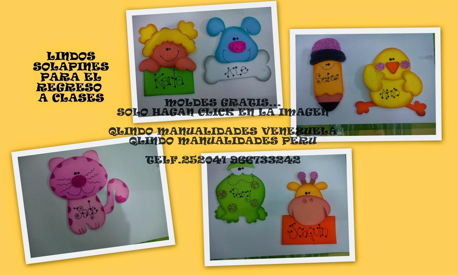 Imagenes Escolares Para Imprimir: Solapines Escolares