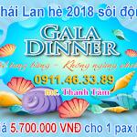 Du lịch Thái Lan hè 2018 sôi động với giá 5.700.000 VNĐ cho 1 pax mỗi ngày