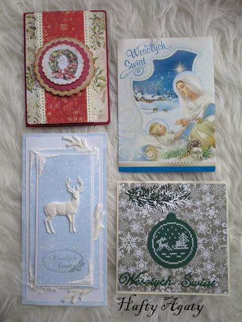Bożonarodzeniowe kartki i podziękowania