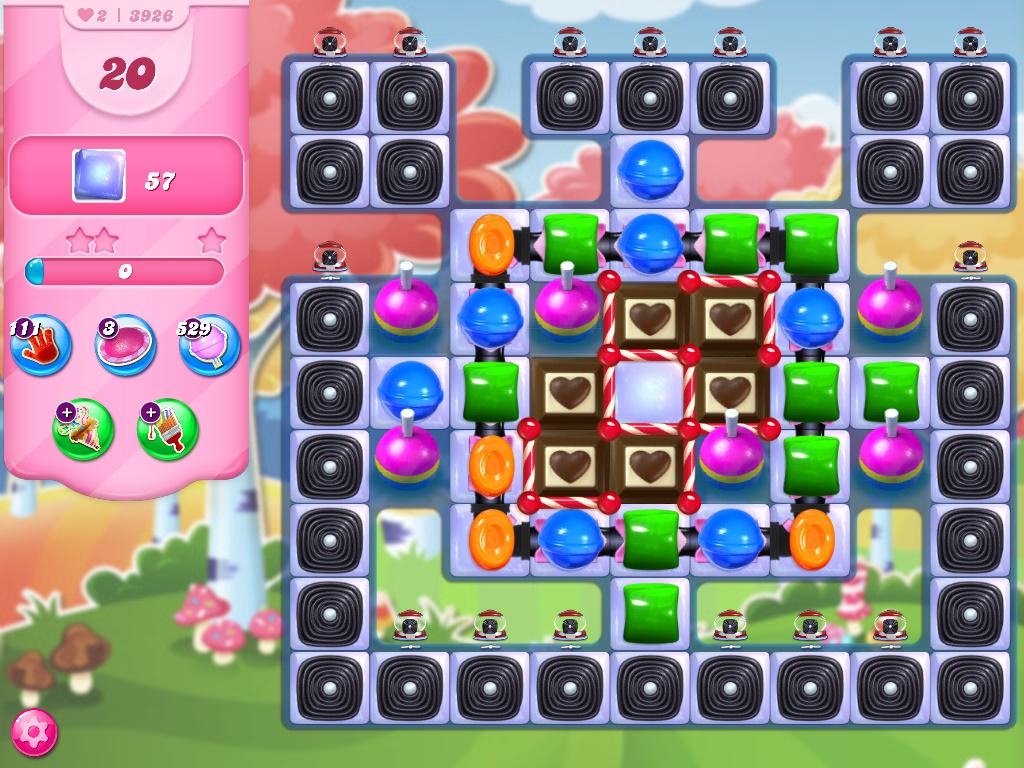 Candy Crush Saga level 3926