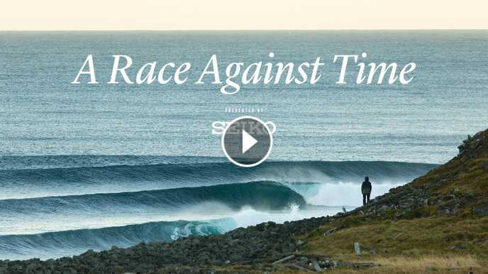 Brett Barley Ben Weiland and Elli Magnusson Chase the First Winter Swell Across Iceland SURFER