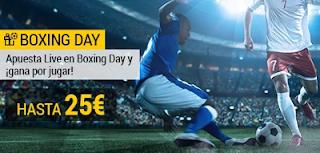 bwin promocion Boxing Day bono por jugar 26 diciembre