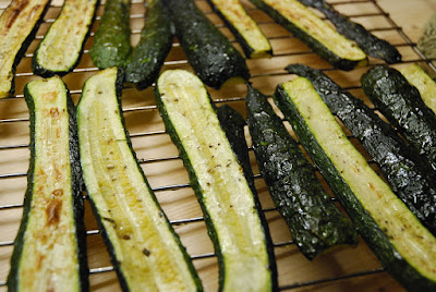 courgettes roties