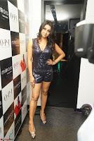 Sanjana looks happy in sparkling short Deep neck Purple Gown ~  Exclusive 09.JPG