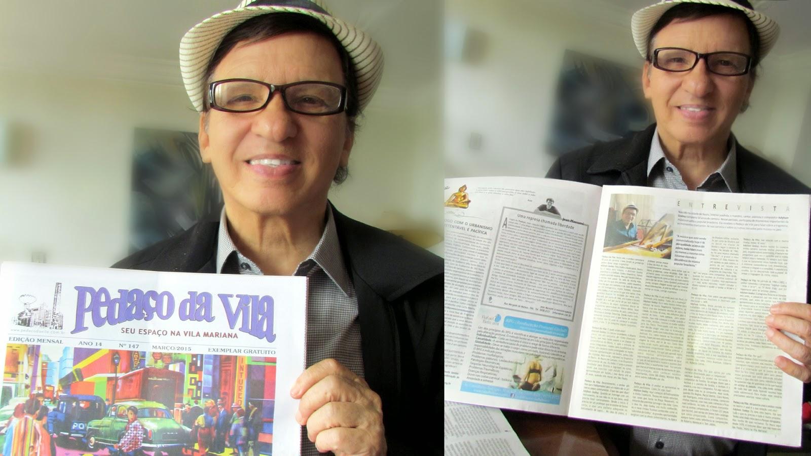 Maestro Adylson Godoy - Entrevista Jornal Pedaço da Vila