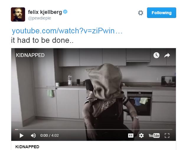PewDiePie Kidnapped