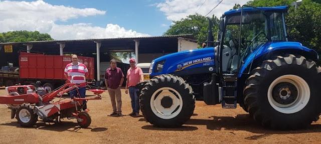 Iretama: Prefeitura recebe novo trator para apoio à agricultura familiar