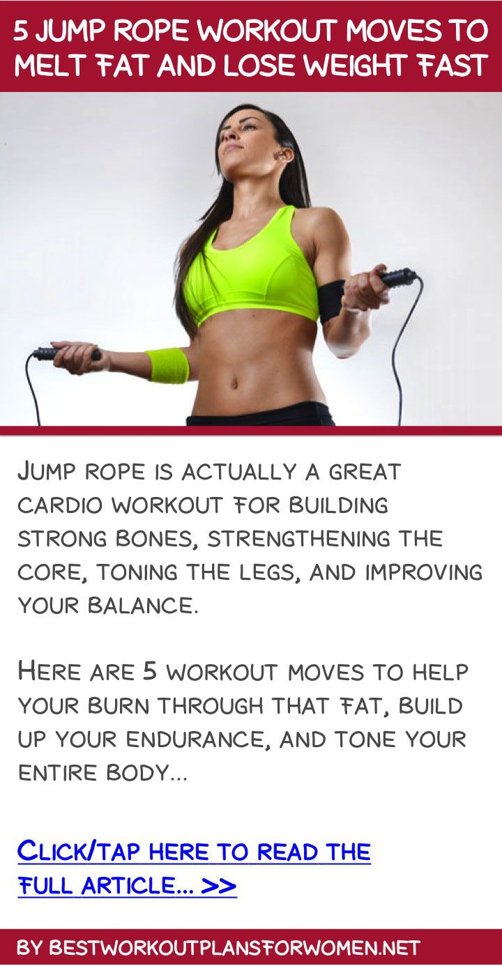 5 jump rope workout moves to melt fat and lose weight fast ...