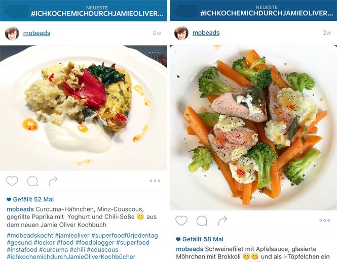 """""""Superfood für jeden Tag"""" von Jamie Oliver oder warum GUT auch GÜNSTIG sein kann / Mo'Beads / Monika Thiede"""