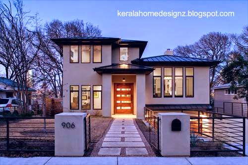 Casa residencial contemporánea americana en Estados Unidos