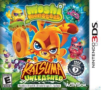 Moshi Monsters Katsuma Unleashed CIA 3DS USA