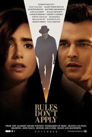Rules Dont Apply 2016 movie Poster