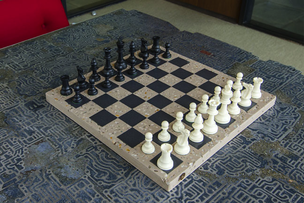 tutorial for a chess board from the Kim Six Fix Blog
