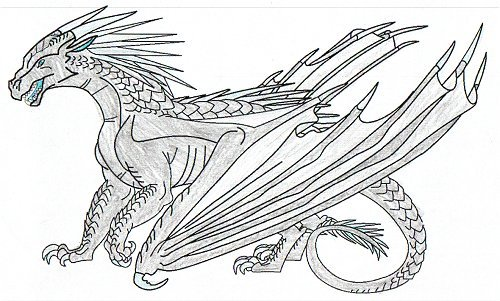 Wings Of Fire Book 2 Coloring Pages Coloring Pages