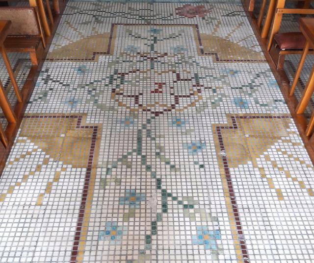 Pavimento della Chiesa della Madonna della Scala a Massafra