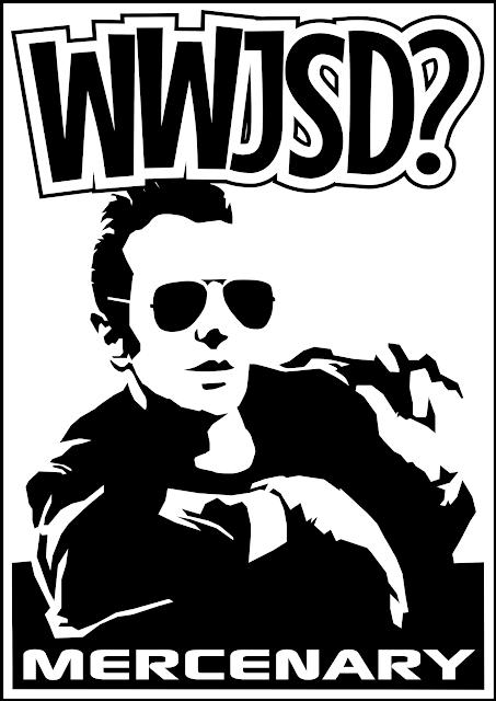 What Would Joe Strummer Do WWJSD Tee Shirt