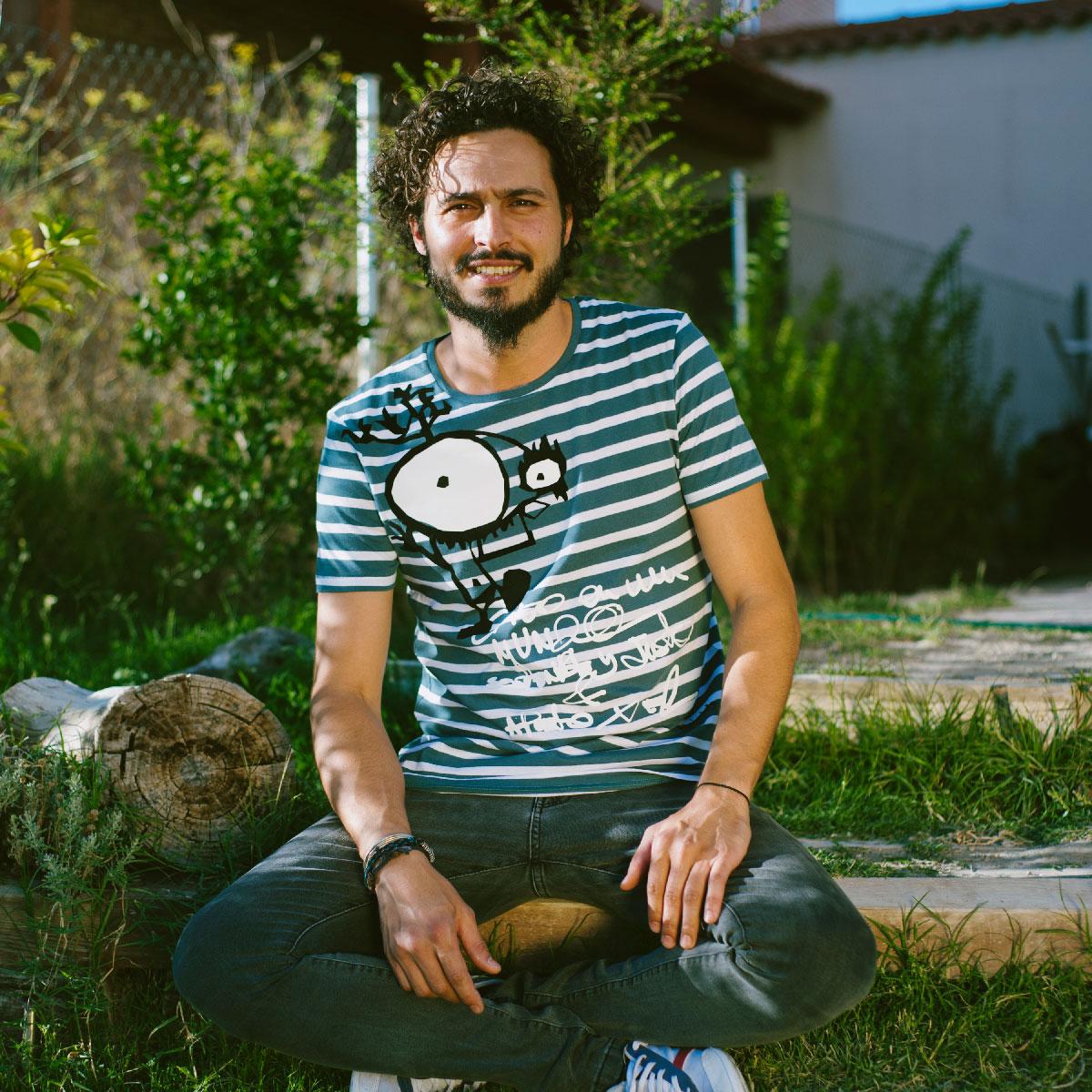 Nuevas camisetas de rayas en algodón ecológico bichobichejo