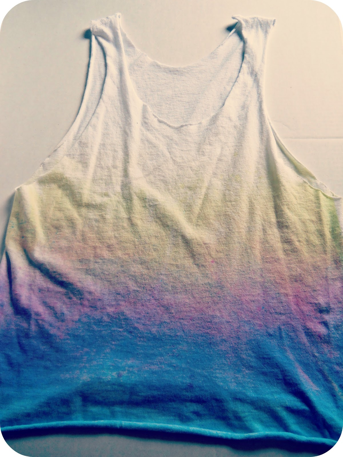 The Metric Child Diy Ombre Tank Top