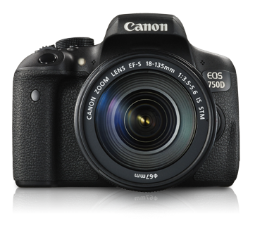 EOS 750D Kit II (EF-S18-135mm IS STM)