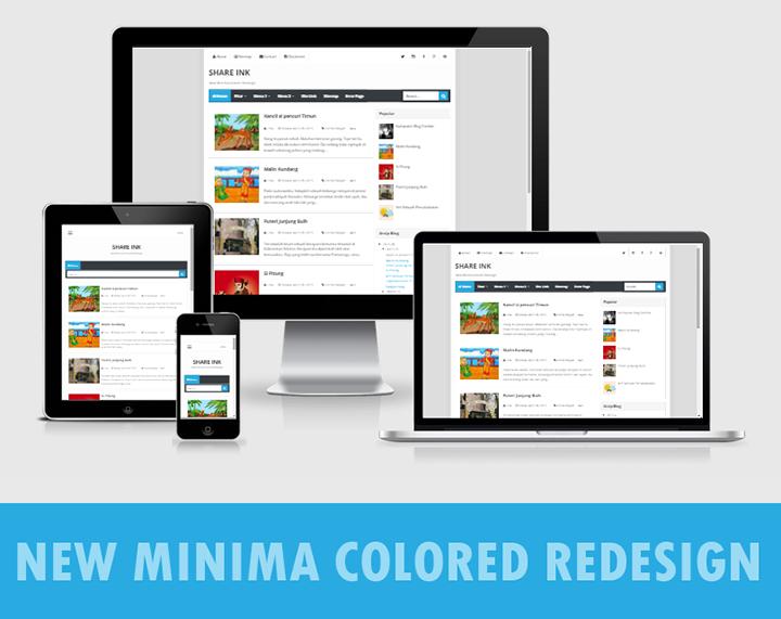 New Minima Colored Redesign - MEDIA BLOGSPOT