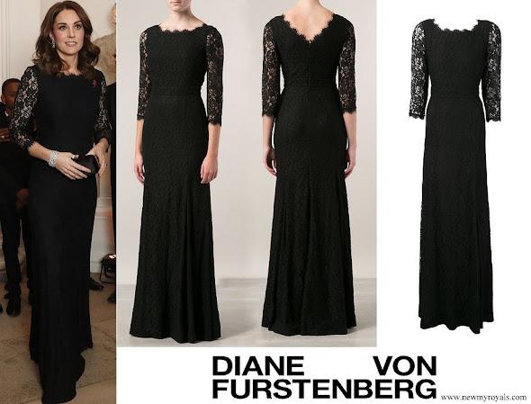Kate Middleton wore DVF - Diane von Furstenberg Zarita gown