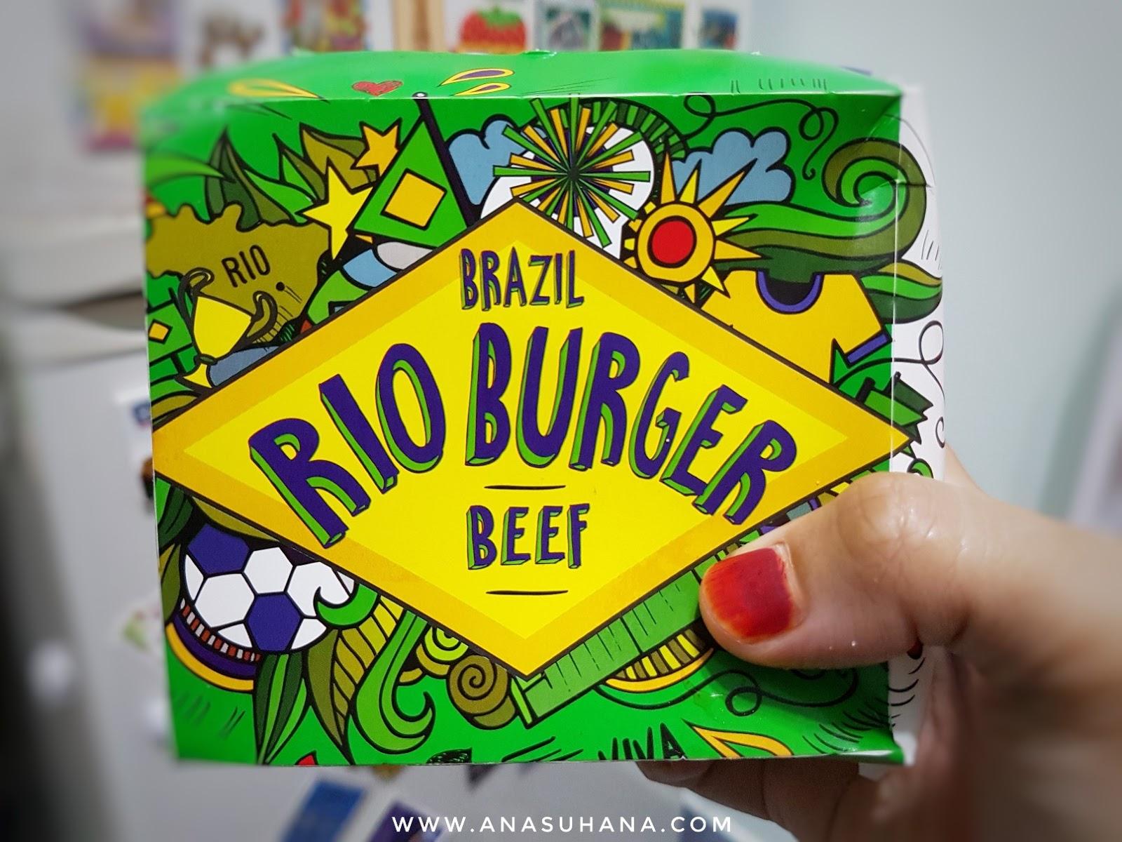 Burger Rio McDonald